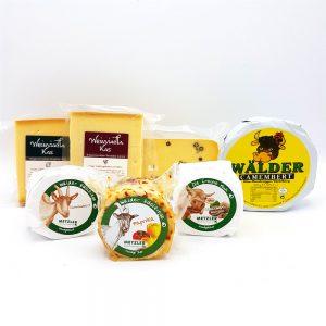 Käse aus der KäseStrasse Bregenzerwald