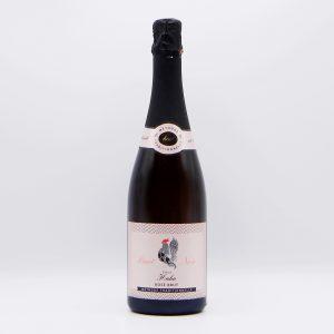Rosé Sekt vom Pinot Noir, Weingut Hahn, Hohenruppersdorf (Weinviertel)